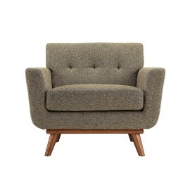 Korea Fabric Chair In Brown Color